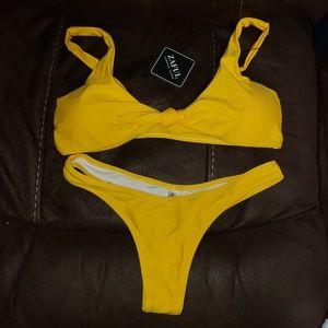 NWT Little Yellow bikini!